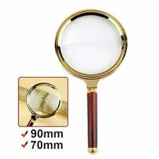 10X Handheld Jewelry Classic Magnifier Magnifying Glass Loop Loupe Reading UK