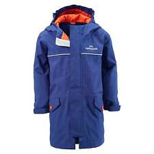 Kathmandu Cloudburst Kids Girls Boys Hooded Waterproof Jacket Rain Coat v3 Blue