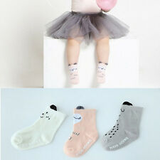 NEW Baby Boys Girls Socks Non-Slip Cartoon Cotton Socks NewBorn Infant Toddler