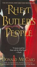 Rhett Butler's People by Donald Mccaig (2008, Paperback) 9X-16