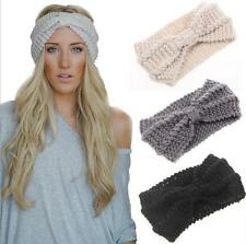 women knit headband crochet winter warmer lady hairband Hair Band headwrap H001