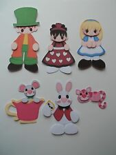 3D - U Pick - Alice in Wonderland Hatter Cat Scrapbook Card Embellishment 165