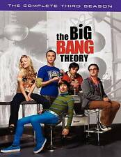 The Big Bang Theory: The Complete Third Season (DVD, 2010, 3-Disc Set) Like NEW