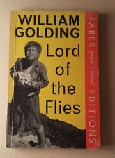 Vintage 1971 FABER PB EDITION.Lord of the flies.WILLIAM GOLDING.Classic Novel