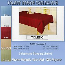 180cm Round  Toledo Fine Dining Table cloth