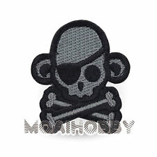 MILSPEC MONKEY Morale Patch Skull Monkey Pirate ACUDark
