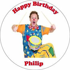 Happy Birthday Mr Tumble Edible Icing Cake Topper 7,5