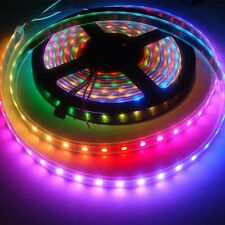 1M/5M 30/60/144 LED WS2812B 5050 RGB LED Strip Light Waterproof AddrKGsable GK