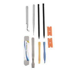 BEST 10PCS Repair Opening Pry Tool Set Spudger Tweezer Blade Kit For iPhone KG