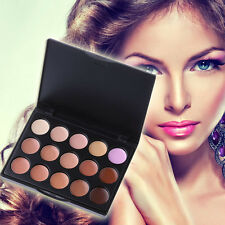 Women 15 Colors Concealer Palette Make Up Cream Camouflage Cosmetic Palettes Hot