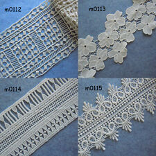 4 Pattern Vintage Cotton Crochet Trims Lace zhm7