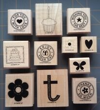STAMPIN' UP!  RUBBER STAMPS ~ YOU PICK ~ RARE SPECIAL OCCASION & THANK YOUS ETC