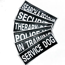 Service Working extra Patch Service Therapy Training Police Patches Dog Harness