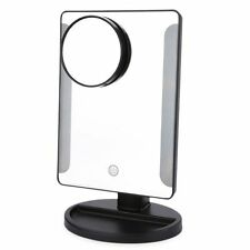 36 LED USB Power Folding Toilet Lighted Makeup Mirror with Magnifier AUS