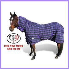 LMHorse 1200D 300g 5'0 - 6'3 Stable Thermal Doona Combo Rug Winter Warmth Purple