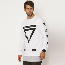 New Nena And Pasadena Brand X L/S T-Shirt in White | Mens Mens Tees