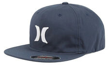 Hurley Men's Tumbler FlexFit Fitted Hat Cap - Obsidian
