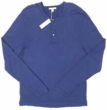 James Perse 'Standard' Blue Henley