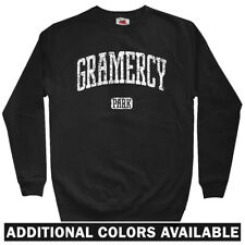 Gramercy Park Men's Sweatshirt - Crewneck S-3X - Gift Manhattan NYC New York 212