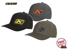 KLIM 2017 K CORP HAT CAP ADULT FLEXFIT FITTED BLACK OR GRAY FREE SHIPPING NEW