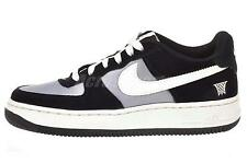 Nike Air Force 1 GS Kids Youth Boys Girls Casual Shoes Black Sail 596728-025