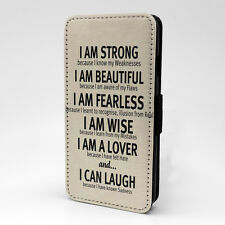 Saying Quote Flip Case Cover For Samsung Galaxy - A1231