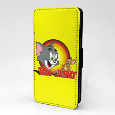 Tom and Jerry Cartoon Flip Case Cover For Samsung Galaxy - T1004