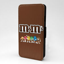 M & M's Flip Case Cover For Samsung Galaxy - T1129