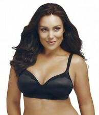Playtex Lace Comfort Revoultion Smoothtec Wirefree Bra (Black) Sz 12 - 22|P6549L
