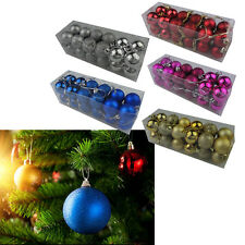 Hot Christmas Decoration Christmas Balls Solid Color *24 Home Decoration New