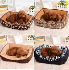 Comfy Dog Bed Heated Pet Blanket Small Large Pet Cat Sofa Couch Warm Kennel New