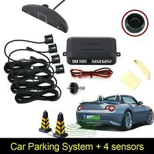 4 Parking Sensors LED Display Car Auto Backup Reverse Radar System Alarm Kit GK