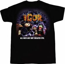 Disney Igor Not All Men Are Not Created Evil Black Youth T-Shirt