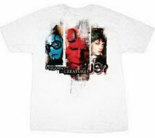 Hellboy II Ungodly Creatures Movie Comic White Adult T-Shirt