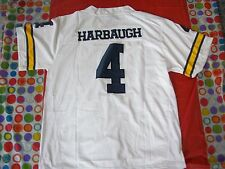 Jim Harbaugh Jersey University of Michigan Stitched,Medium