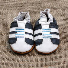 Bubba Boosh soft leather baby toddler boy shoes soft sole 0-3 3-6 6-12 months