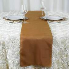 Polyester Table Runner Wedding Party Banquet Decoration 20+ Colors!