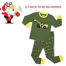 Pajamas Toddler Boy's 'Christmas Snowman' Baby Cotton Sleepwear Sets Long Sleeve