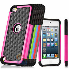 New Hybrid Defender Armor Case Protective Cover For Apple iPod Touch 5th 6th Gen
