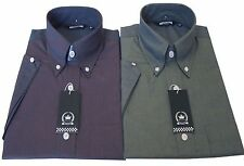 Relco Tonic Shirt Two Tone Burgundy Black Gold Green Sizes M TO 3XL New
