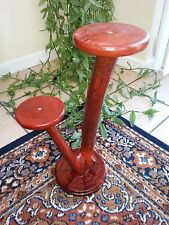 handmade wooden flower plant stand perfect gift/present