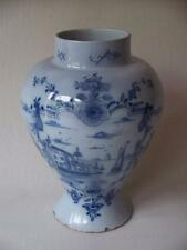 18TH CENTURY DELFT VASE BALUSTER SHAPE ~ NOW 16% OFF