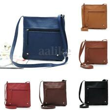 Women Lady PU Leather Shoulder Bag Messenger Crossbody Handbag Satchel Clutch