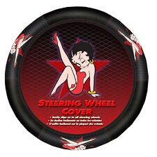 Betty Boop Star Auto Steering Wheel Cover Car Truck SUV Vehicle Accessory Rudder