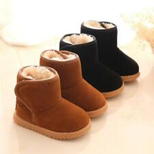Toddler Infant Snow boots Baby Kids Boys Girls Warm Winter Anti-slip Boot Shoes