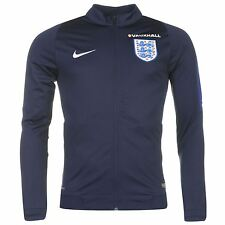 Nike England Track Jacket Mens Navy/Royal Football Soccer Top