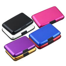 Waterproof Business ID Credit Card Wallet Holder Aluminum Metal Case Box GD