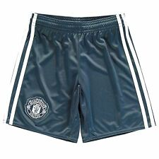 Adidas Manchester United FC Third Shorts 2016 2017 Juniors Onix Football Soccer