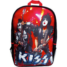 KISS Live In Concert Back Pack Backpack Black