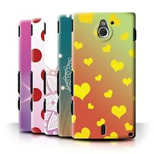 STUFF4 Back Case/Cover/Skin for Sony Xperia Sola/MT27i/Ombre Pattern